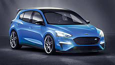Ford Focus RS secondo AutoCar © AutoCar