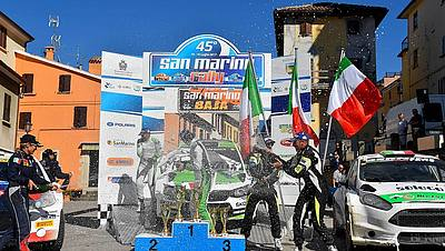 Rally San Marino - Podio 2017
