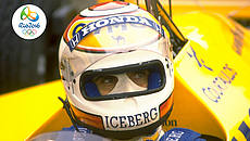 Nelson Piquet © Getty/Simon Bruty/Allsport