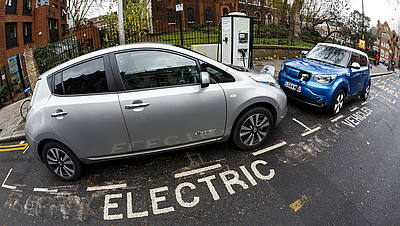 Auto elettriche a Londra © GettyImages