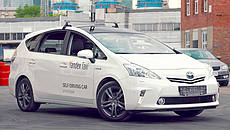 Yandex Self Driving Taxi