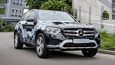 Mercedes GLC F-CELL Prototipo