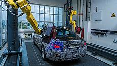 Bmw, robot in stabilimento