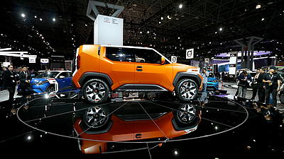 New York International Auto Show 2017 © GettyImages