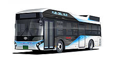 Bus Fuel Cell Toyota