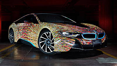 Garage Italia Customs BMW i8 Futurism