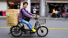 Scooter elettrico in Cina © GettyImages