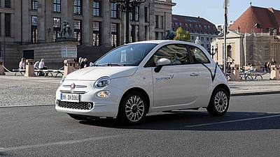 Fiat 500 - Share Now