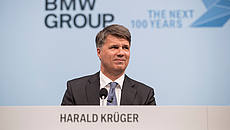 Harald Krüger, Chairman of the Board of Management of BMW AG