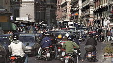 Traffico a Napoli © GettyImages
