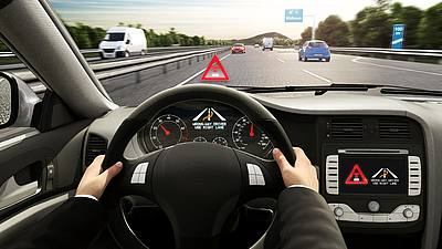 Bosch Wrong-way driver warning