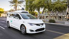 Waymo Minivan Arizona