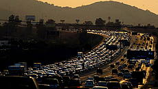 Traffico a Los Angeles © Getty Images