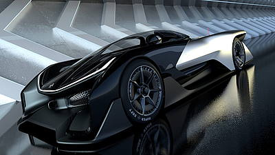 Faraday Future Zero1 Concept