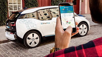 DriveNow - Car Sharing BMW Mini