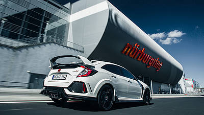 Honda Civic Type R - Nürburgring