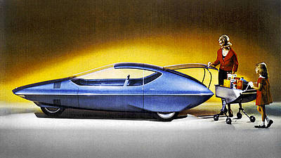 Runabout Concept General Motors 1964