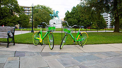 Lime Bike Bike sharing Washington DC