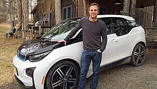 Mark Ruffalo Bmw i3