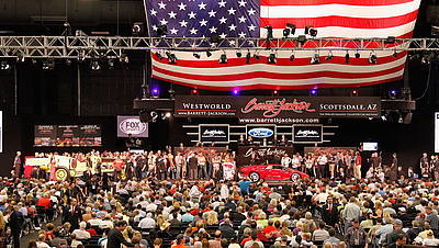 Barrett-Jackson Auto Show © GettyImages