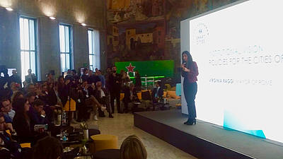 FIA Smart City Forum - Virginia Raggi