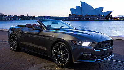 Ford Mustang a Sydney