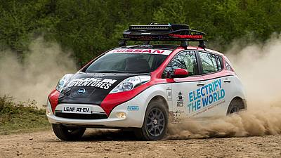 Mongol Rally - Plug In Adventures - Nissan Leaf